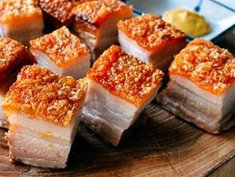 Thịt heo quay xong đem kho với thứ này đảm bảo ăn mãi không chán