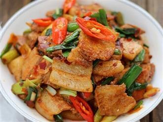 Chỉ 15 phút, xong ngay món thịt heo rang cháy cạnh cho người bận rộn
