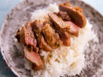 Vừa nhìn thấy thịt lợn nướng kiểu này, cả nhà đã đòi ăn cơm ngay lập tức