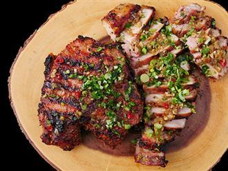 Thịt nướng sả làm theo cách này sẽ ngon hơn rất nhiều