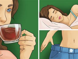 7 thói quen nếu làm khi đi ngủ chắc chắn sẽ giúp bạn giảm cân hiệu quả không kém gì các bài tập thể dục