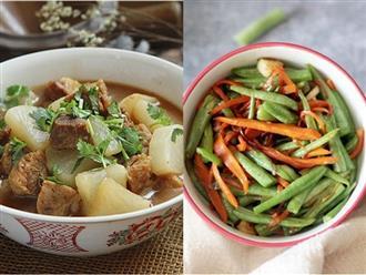 Khỏi nghĩ chiều nay ăn gì vì đã có thực đơn chỉ 2 món nấu nhanh mà đủ chất đây rồi!