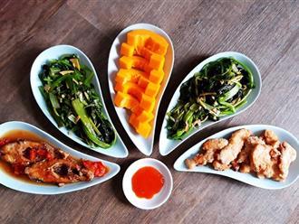 Mẹ Thỏ chia sẻ thực đơn cơm tối ngon đẹp lung linh mà đi chợ chỉ hết chưa tới 80k