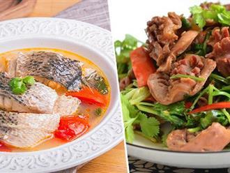 Thực đơn giản tiện chỉ 2 món nấu siêu nhanh mà ăn ngon miễn bàn!