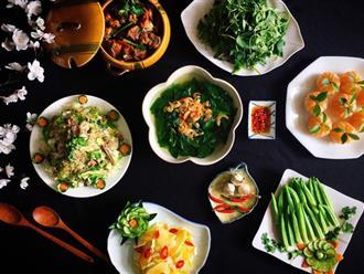 Xuýt xoa với thực đơn cuối tuần đẹp lung linh toàn món ngon của mẹ đảm Sài Gòn