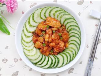 Người Hàn có món tôm thịt rim siêu ngon mà tôi vừa phát hiện ra!