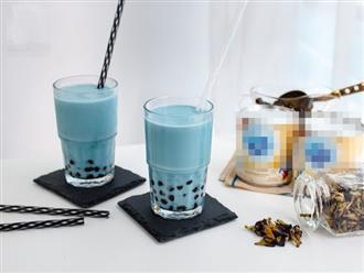 """""""Nóng bỏng tay"""" công thức pha trà sữa hoa đậu biếc ngon vi diệu"""