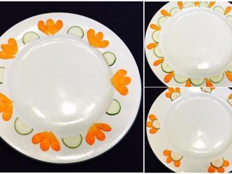 """""""Bỏ túi"""" 10 kiểu trang trí đĩa ăn ngày Tết đơn giản mà đẹp mắt"""