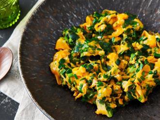Người Nhật thường thêm nguyên liệu này vào món trứng chiên, vừa ngon vừa bổ gấp 10 lần
