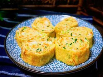 Trứng kết hợp với 2 nguyên liệu này thành món ăn tuyệt ngon, 10 phút là xong ngay