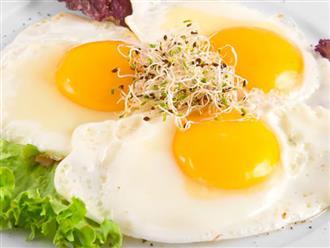 Ăn trứng kiểu này ngừa được ung thư lại cả đời chẳng lo bệnh tim mạch