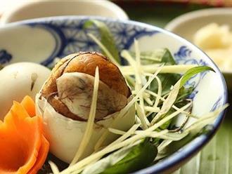 """Trứng vịt lộn thành """"thuốc độc"""" nếu ăn theo cách này"""