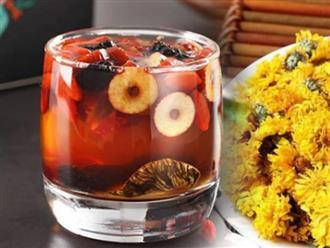 Tự làm trà dưỡng nhan, bổ máu, tăng cường miễn dịch tại nhà đơn giản nhất