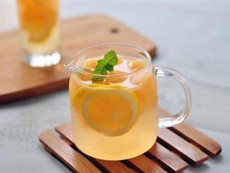 Tự làm trà trái cây giảm cân lành mạnh mà hiệu quả chỉ trong nháy mắt