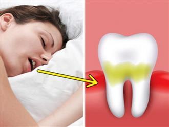 Vì sao bạn đánh răng sạch sẽ mà ngủ dậy vẫn bị hôi miệng? 6 cách trị hôi miệng tại nhà