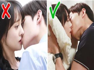 Vì sao chúng ta thường nhắm mắt khi hôn?
