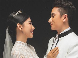 CĐM trầm trồ trước ảnh cưới Phan Mạnh Quỳnh: Cô dâu Khánh Vy phô đường cong chữ S 'không phải dạng vừa', nhan sắc tựa thần tiên bên ông xã soái ca
