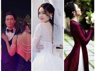 Sao Việt 24 giờ qua: Ninh Dương Lan Ngọc 'thử' váy cưới, Đỗ Hùng Dũng tươi tắn sau phẫu thuật