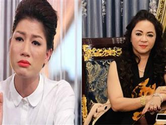 Trang Trần 'giương cờ trắng' nhận thua trước sự cảnh cáo 'mạnh tay' của bà Nguyễn Phương Hằng