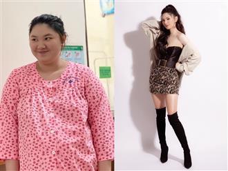 Mẹ bỉm nặng cả 100kg lúc mang bầu, xấu đến nỗi chồng không nhận ra và màn giảm cân 'thần tốc' khiến cả MXH chao đảo