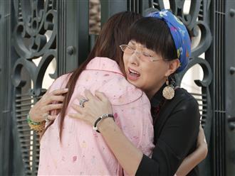 Phương Dung khóc nức nở khi nhận ra Chế Nguyễn Quỳnh Châu là con gái thất lạc ở Kiếm Chồng Cho Mẹ Chồng