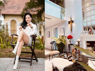 Ngôi biệt thự sang chảnh, đầy ấm cúng được chính tay nữ doanh nhân Bích Nguyệt chăm chút đến từng chi tiết