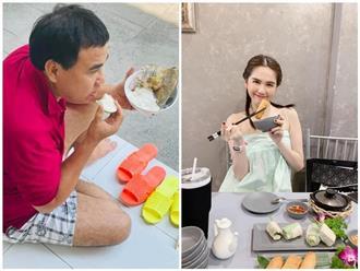 Sao Việt nghỉ lễ: MC Quyền Linh ăn cơm kiểu 'con nhà nghèo', ngọc nữ Tăng Thanh Hà tiết lộ mối quan hệ mẹ chồng nàng dâu
