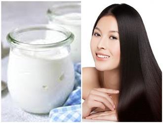 Chẳng cần đi spa, tóc suôn mượt, chắc khỏe bất ngờ nhờ áp dụng mặt nạ dưỡng với sữa chua cùng thực phẩm dễ kiếm này