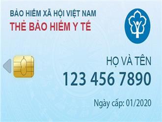Thay thẻ bảo hiểm y tế giấy bằng điện tử từ năm 2020