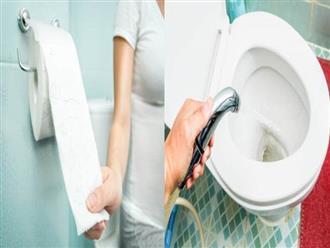Hai thói quen tưởng tốt trong nhà vệ sinh đang gây hại 'cô bé'