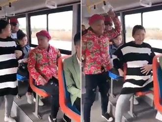 Nhét bóng bay vào bụng, giả bầu để được nhường ghế trên xe buýt và cái kết đắng