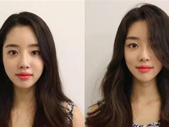 Cũng là tóc buông xõa nhưng với thủ thuật này của con gái Hàn mái tóc đẹp hơn rất nhiều!
