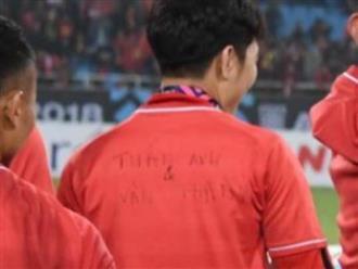 Ấm áp như Lương Xuân Trường: Mặc áo nhà vô địch nhưng ghi tên Văn Thanh và Tuấn Anh
