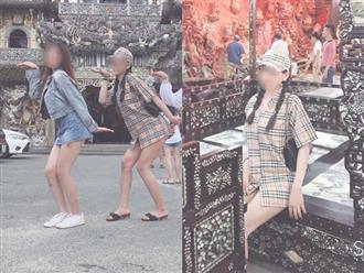 Nhóm bạn trẻ mặc váy ngắn cũn cỡn, tạo dáng hớ hênh tại ngôi chùa nổi tiếng ở Đà Lạt bị 'ném đá'
