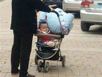 Góc 'giận tím người': Em bé cau có vì hành động 'quá đáng lắm luôn á' của bà