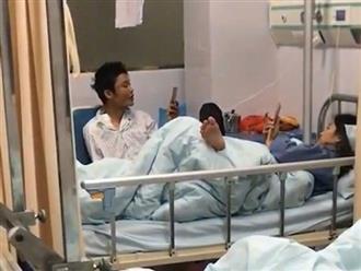Ảnh hài hước: Vào viện thăm bạn trai và cái kết 'không biết ai mới là bệnh nhân'
