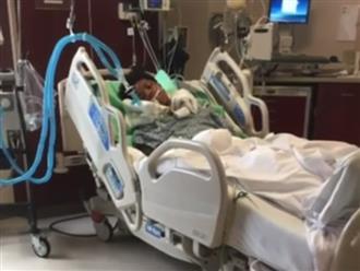 Bác sĩ khuyên gia đình rút ống thở cho bệnh nhân chết não, 4 tháng sau người phụ nữ này tỉnh dậy trong sự ngỡ ngàng của mọi người