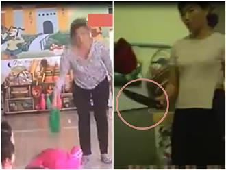 Bảo mẫu dùng bình nhựa đập đầu, cầm dao dọa nạt trẻ: 'Đánh dằn mặt để các cháu sợ'