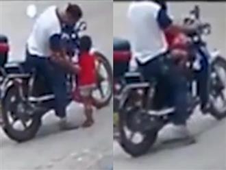 Gã đàn ông bắt cóc cô bé 3 tuổi ngay trên đường: 'Muốn có con gái nuôi'