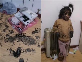 Bị la mắng vì phá banh nhà, bé gái giữ vững thần thái 'Ủa ai biết gì đâu' khiến dân mạng cười bò