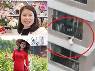 Lộ danh tính người phụ nữ la hét thất thanh, hoảng loạn gọi người cứu bé gái sắp rơi khỏi tầng 13 chung cư