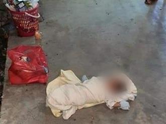Bé gái sơ sinh bị bỏ rơi trước cửa nhà dân, đọc tâm thư người mẹ để lại mà nhói lòng