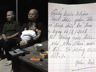 Bé trai bị bỏ rơi trước cổng chùa kèm tờ giấy 'không vấn vương gì' đã được người thân đón về
