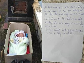 Phát hiện bé trai bị bỏ rơi cùng tâm thư của người mẹ