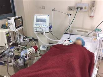 Bệnh nhân 418 âm tính SARS-CoV-2 lần 1 nhưng sức khỏe yếu, vẫn đang hôn mê