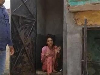 Bị chồng nhốt trong toilet suốt 1 năm rưỡi, người phụ nữ được giải cứu trong tình trạng 'không còn hình người'