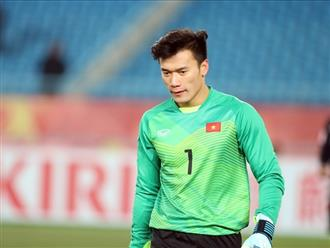 Bùi Tiến Dũng tiết lộ 'bí kíp' giữ sạch lưới, tự tin gặp U23 Hàn Quốc