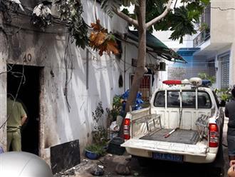 Camera an ninh ghi lại được hình ảnh nghi can vụ 3 người tử vong trong phòng trọ bốc cháy ở Sài Gòn