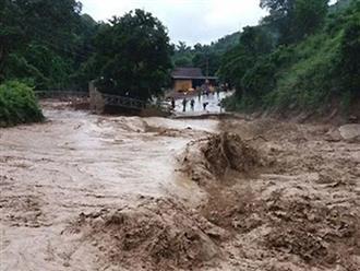Cảnh báo lũ quét, sạt lở đất và ngập úng tại các tỉnh Thanh Hóa, Nghệ An, Hà Tĩnh
