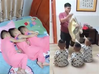 Cảm giác thế nào khi sinh ba?